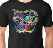 Down the Rabbit Hole - Black Unisex T-Shirt