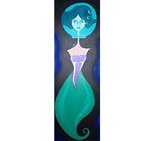 fishbowl mermaid Photographic Print