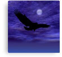 Eagle Gliding Canvas Print
