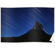 Stars over Mount Coonowrin Poster