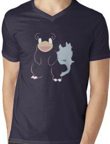 Slowbro Mens V-Neck T-Shirt