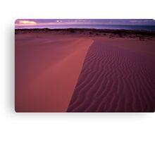 Pastel Dunes  Canvas Print