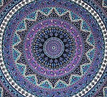 mandala hippie by kittititti