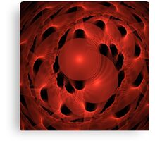 Red Parasite Canvas Print