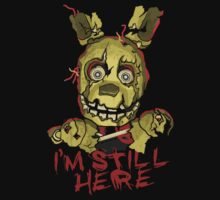 Five Nights At Freddy's Springtrap Baby Tee