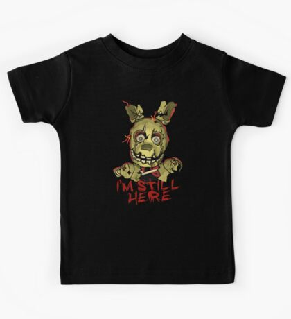Five Nights At Freddy's Springtrap Kids Tee