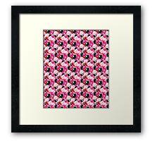 Pink  pattern Framed Print