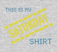 My Saturday Shirt One Piece - Long Sleeve