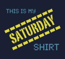 My Saturday Shirt One Piece - Short Sleeve