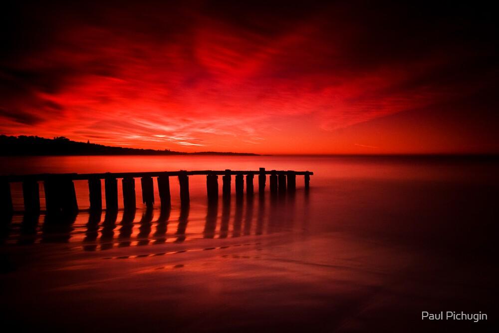 Victor Harbor Dawn by Paul Pichugin