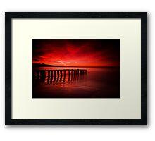 Victor Harbor Dawn Framed Print