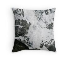 White Thunder 1 Throw Pillow