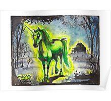 Radiant Unicorn Poster
