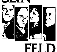 Black Flag / Seinfeld Tee by thallroy