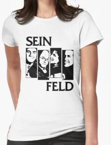 Black Flag / Seinfeld Tee Womens Fitted T-Shirt