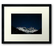 Everest Under the Stars 2 Framed Print