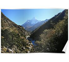 Up the Valley to Ama Dablam Poster