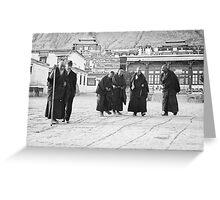 Tibetan Sunday Greeting Card