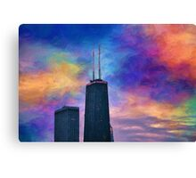 Antennae in the Sky Canvas Print