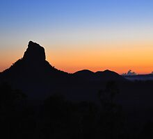 Mount Coonowrin by Meg Forbes
