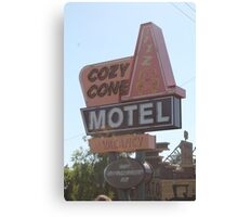 The Cozy Cone Motel Canvas Print