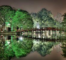 Huan Kiem Lake - Vietnam by Ben Taylor