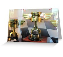 Piston Cup Greeting Card