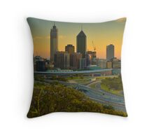 Perth City Throw Pillow