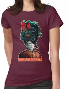 Queen of the Wild Frontier Womens Fitted T-Shirt