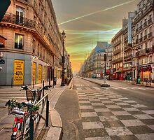 Parisian Dawn by S T