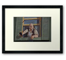Stout-Hearted Framed Print