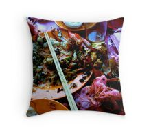 Chinese Feast Throw Pillow