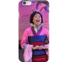 Mulan iPhone Case/Skin