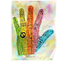 The Hand of Peace Poster