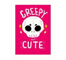 Creepy but cute Art Print
