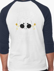Creepy but cute Men's Baseball ¾ T-Shirt