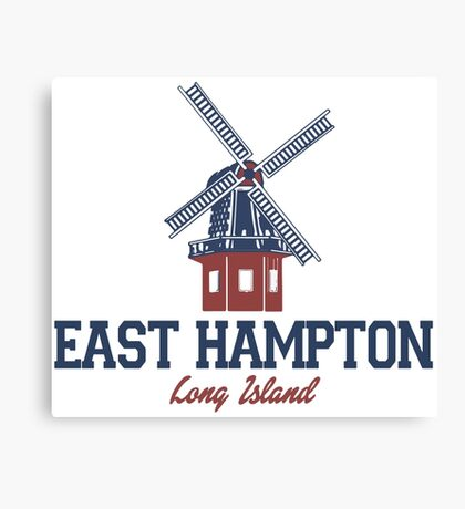 East Hampton - Long Island.  Canvas Print