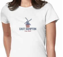 East Hampton - Long Island.  Womens Fitted T-Shirt
