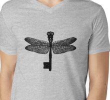 The Dragonfly Key Mens V-Neck T-Shirt