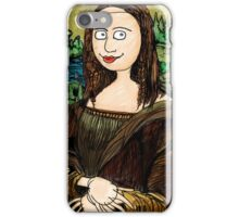 Refrigerator Door Series: Mona Lisa iPhone Case/Skin