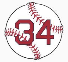 David Ortiz Baseball Design by canossagraphics