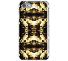 Mirrored Image Skulls Collage iPhone Case/Skin
