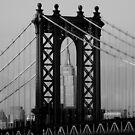 Manhattan Bridge by Tom  Marriott