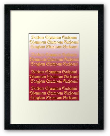 Buddam, Dhammam, Sangham by AravindTeki