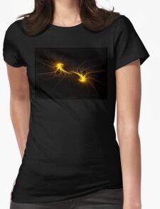 """Twin Flames""  - Fractal Art Womens Fitted T-Shirt"