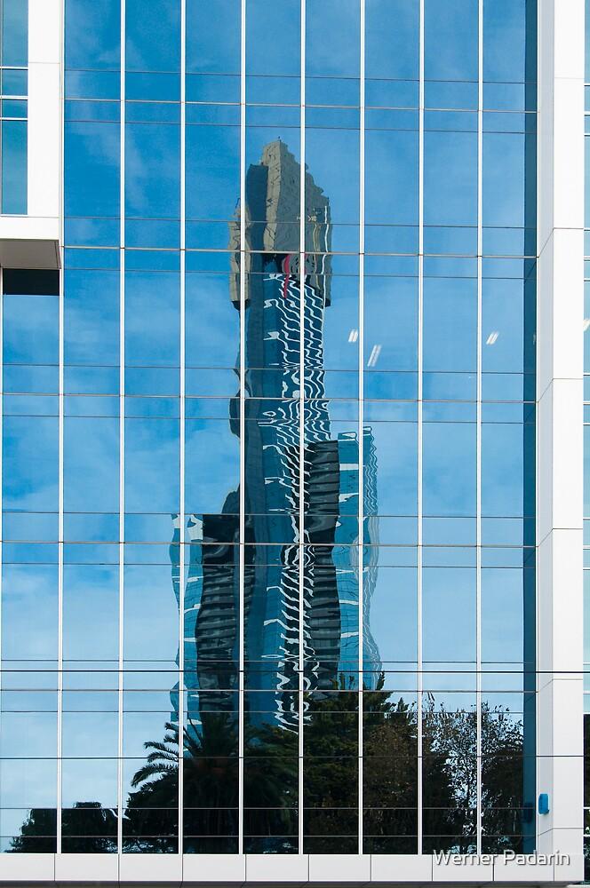 Reflecting Blue by Werner Padarin