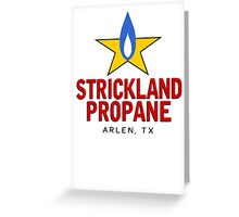 Strickland Uniform Greeting Card