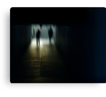 urb reverberation (The Arrival)  Canvas Print