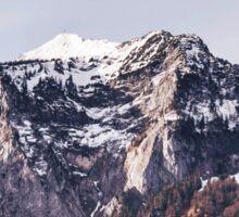 Mountainscape Sticker