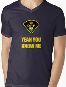 You down with OPP? Mens V-Neck T-Shirt